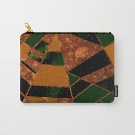 #455 Gold & Pothos Carry-All Pouch