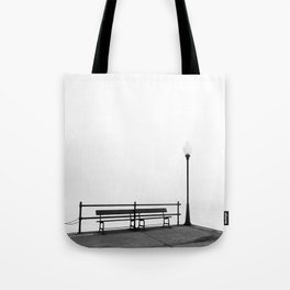 Pier in Early Spring, No. 2 Tote Bag