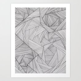 fibers (1) Art Print