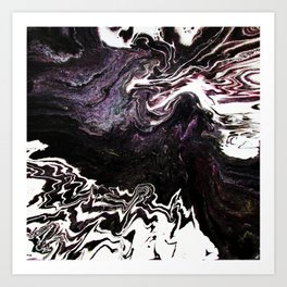 Deep Caverns Art Print