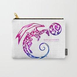 Kara Lockharte's Dragons: Escape. Adventure. Romance. Carry-All Pouch
