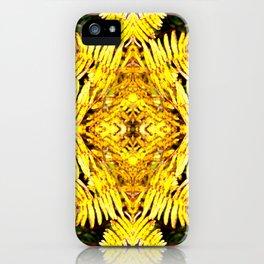 Fern Yellow iPhone Case