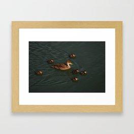 Family time! Framed Art Print