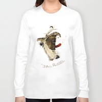 jack russell Long Sleeve T-shirts featuring Jack Russell by ari-s