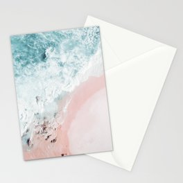 Ocean Pink Swirl Stationery Cards