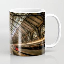 Kings Cross Station Night Art Coffee Mug