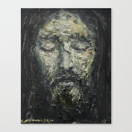 Holy Face of Our Lord Jesus Christ Canvas Print