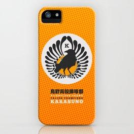 Karasuno High Volleyball Club iPhone Case