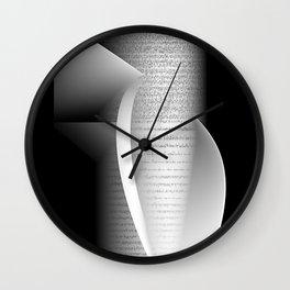 Data script 1 Wall Clock