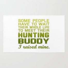 My Hunting Buddy Rug
