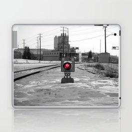 Train Track Signal Light Laptop & iPad Skin