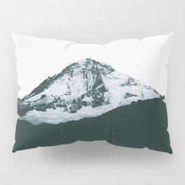 Mount Hood Black and White Pillow Sham