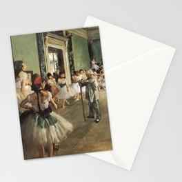 The Dance Class, Edgar Degas, 1874 Stationery Cards