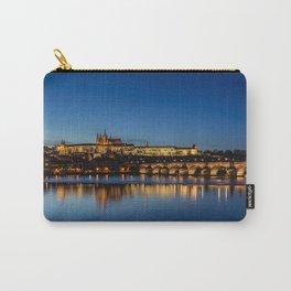 Charles Bridge and Prague Castle, Czech Republic Carry-All Pouch