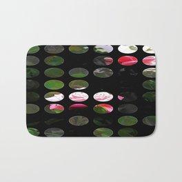 Pink Roses in Anzures 5  Art Circles 1 Bath Mat