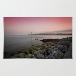 Exmouth evening Rug