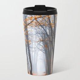 Misty road Metal Travel Mug