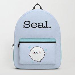 Baby Seal Kawaii Backpack