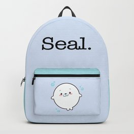 Baby Seal Kawaii Backpack