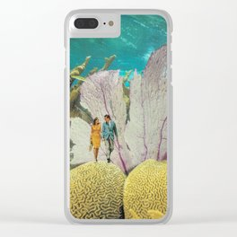 under water Clear iPhone Case