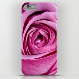 Lovely Rose - pink iPhone Case