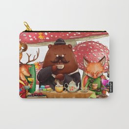 Autumn tea party #3 Carry-All Pouch