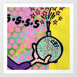 SSSS Art Print