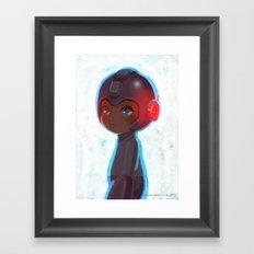 Mega Man 25th Anniversary Framed Art Print