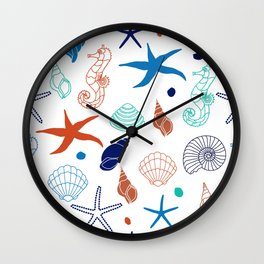 Just for the Shell of it Wall Clock