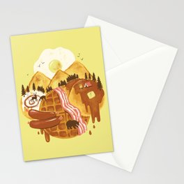 Breakfastscape Stationery Cards