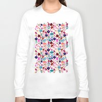 gem Long Sleeve T-shirts featuring GEM by Liz Haywood