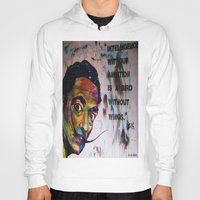 salvador dali Hoodies featuring Salvador Dali by Ruby Chavez