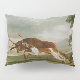 George Stubbs - Hound Coursing a Stag Pillow Sham