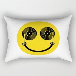 Smile DJ Rectangular Pillow