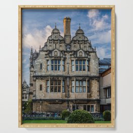 Trinity College Oxford University England Serving Tray