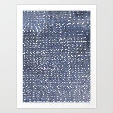 Batik 2 Art Print