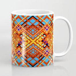 Tiger Lily Plaid Coffee Mug