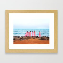 Pondicherry Framed Art Print