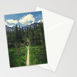 Pathway To The Rockies Stationery Cards