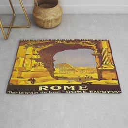 Vintage poster - Rome Rug