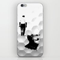 arnold iPhone & iPod Skins featuring Arnold Palmer by Ryan Anderson