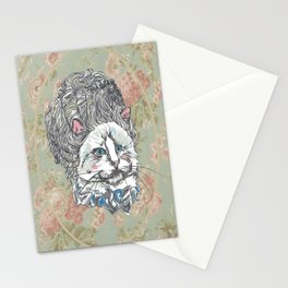 Meowrie Antoinette Stationery Cards