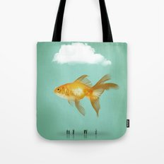 BALLOON FISH  III Tote Bag
