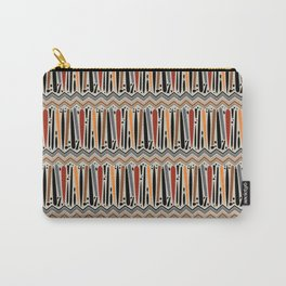 Moth Chevron Carry-All Pouch