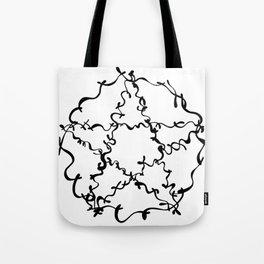 Pentagram by Eleanor Davies Tote Bag