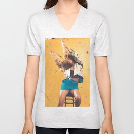 King and Queen Unisex V-Neck
