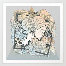BROKEN FRAMES Art Print