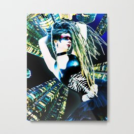 Black Me Out Metal Print