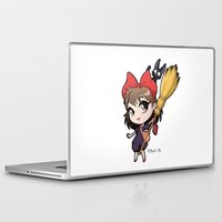 chibi Laptop & iPad Skins featuring Chibi Kiki by Warbunny