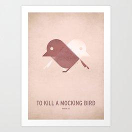 To Kill a Mocking Bird Art Print